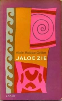Omslag Jaloezie - Alain Robbe-Grillet