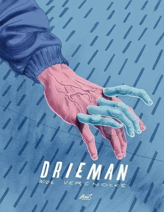 Omslag Drieman, (graphic novel) - Wide Vercnocke