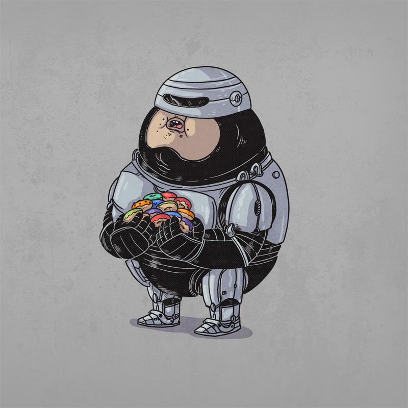 robocop gordo