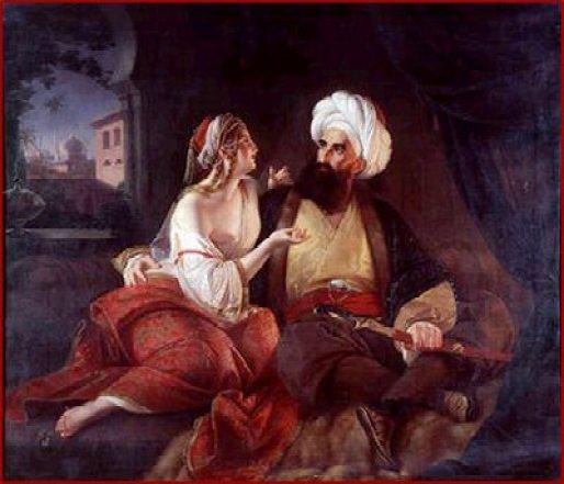 Scheherezade y el sultán