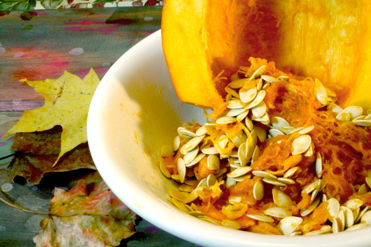 roast your own pumpkin