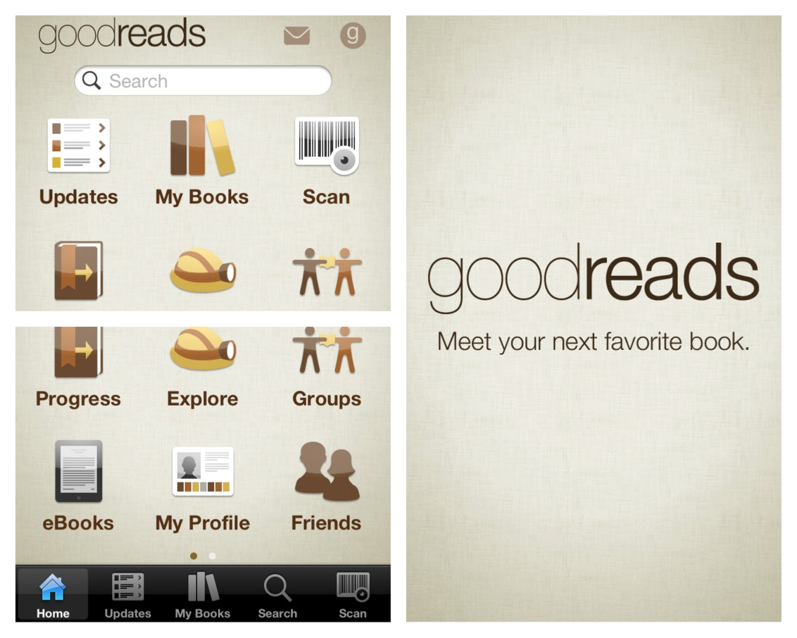 Goodreads dating app