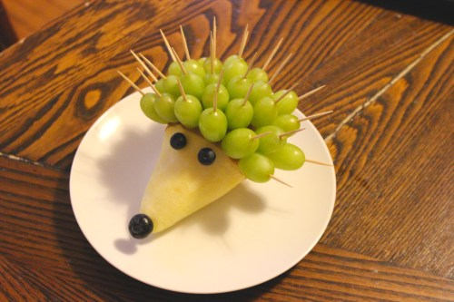 Make Your Own Hedgehog A Beginners Guide To Fruit Art