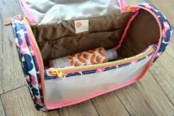 Orla Kiely Large Wash Bag