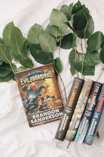 alcatraz vs the evil librarians brandon sanderson