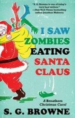 SG Browne-Zombies Eating Santa Claus