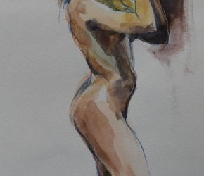Victor Pavlov : 20-Minute Workouts – Watercolour Life-Drawings