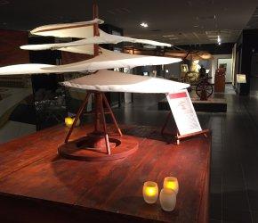 DaVinci Machines Exhibition