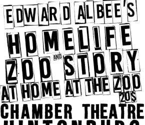At Home at the Zoo by Edward Albee / Chamber Theatre Hintonburg at Carleton