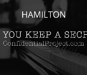 Confidential Musical Theatre Project - Hamilton