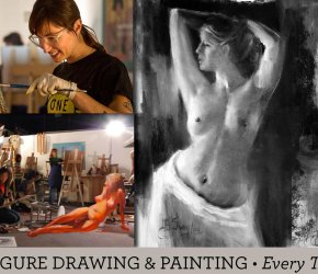 Weekly Drop-In Figure Drawing & Painting Class 2017