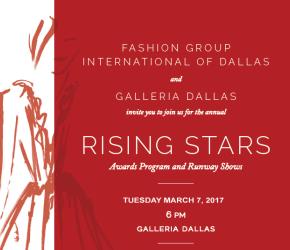 Fashion Group International (Dallas) Rising Stars 2017