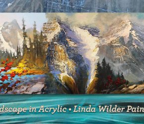 Landscape in Acrylic • Demonstration by Linda Wilder