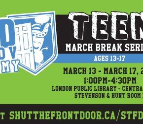 STFD Improv Academy Presents: Teen March Break Series