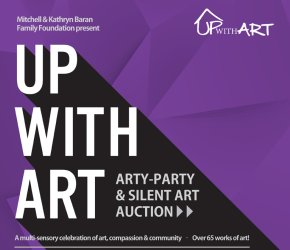 UPwithART - Arty Party Silent Art Auction - for relief of homelessness