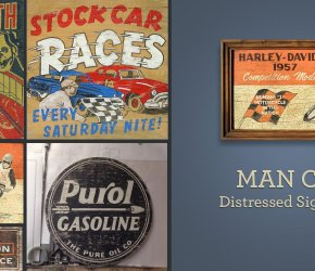 Man Cave Sign Making Workshop
