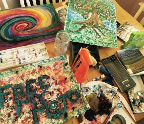 Expressing my voice: Art Journal vision book workshop (Jacksonville location)