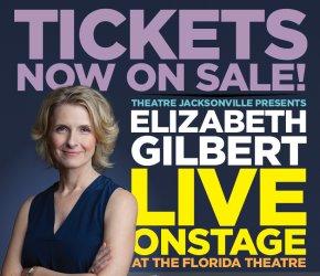 Elizabeth Gilbert LIVE!