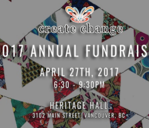 2017 Annual Create Change Fundraising Gala