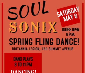 Spring Fling dance with SoulSonix