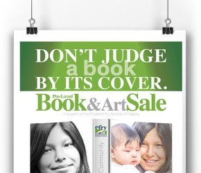 Don't Judge a Book by Its Cover Pre-Loved Book & Art Sale