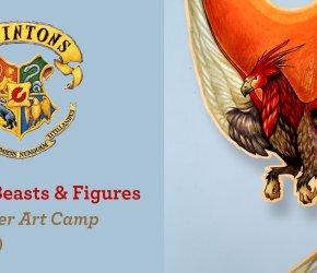 Fantastic Beasts & Figures - Summer Art Camp (Ages 11-17)