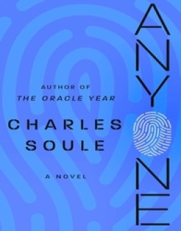 Cover design of Charles Soule's 2nd novel, Anyone