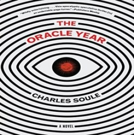 Cover design of Charles Soule's 1st novel, The Oracle Year