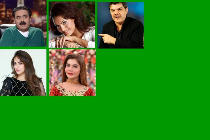 Featured Image showing the Top 5 Pakistani Media Personalities.