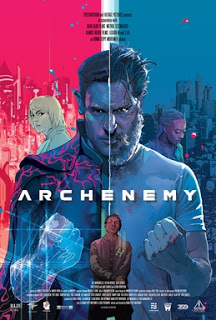 Poster of Archenemy (2020) Superhero Movie.