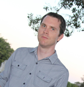 Featured Image of Horror Author and Artist Greg Chapman.