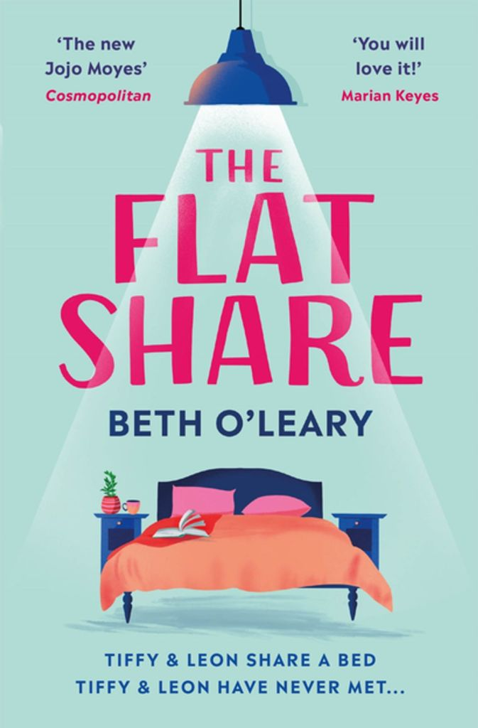 Book Cover of The Flatshare.