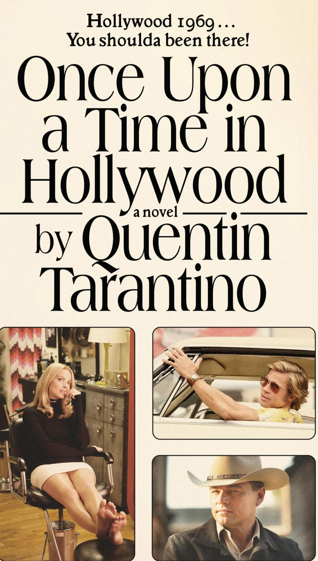 Once Upon a Time in Hollywood A Novel (Cover)