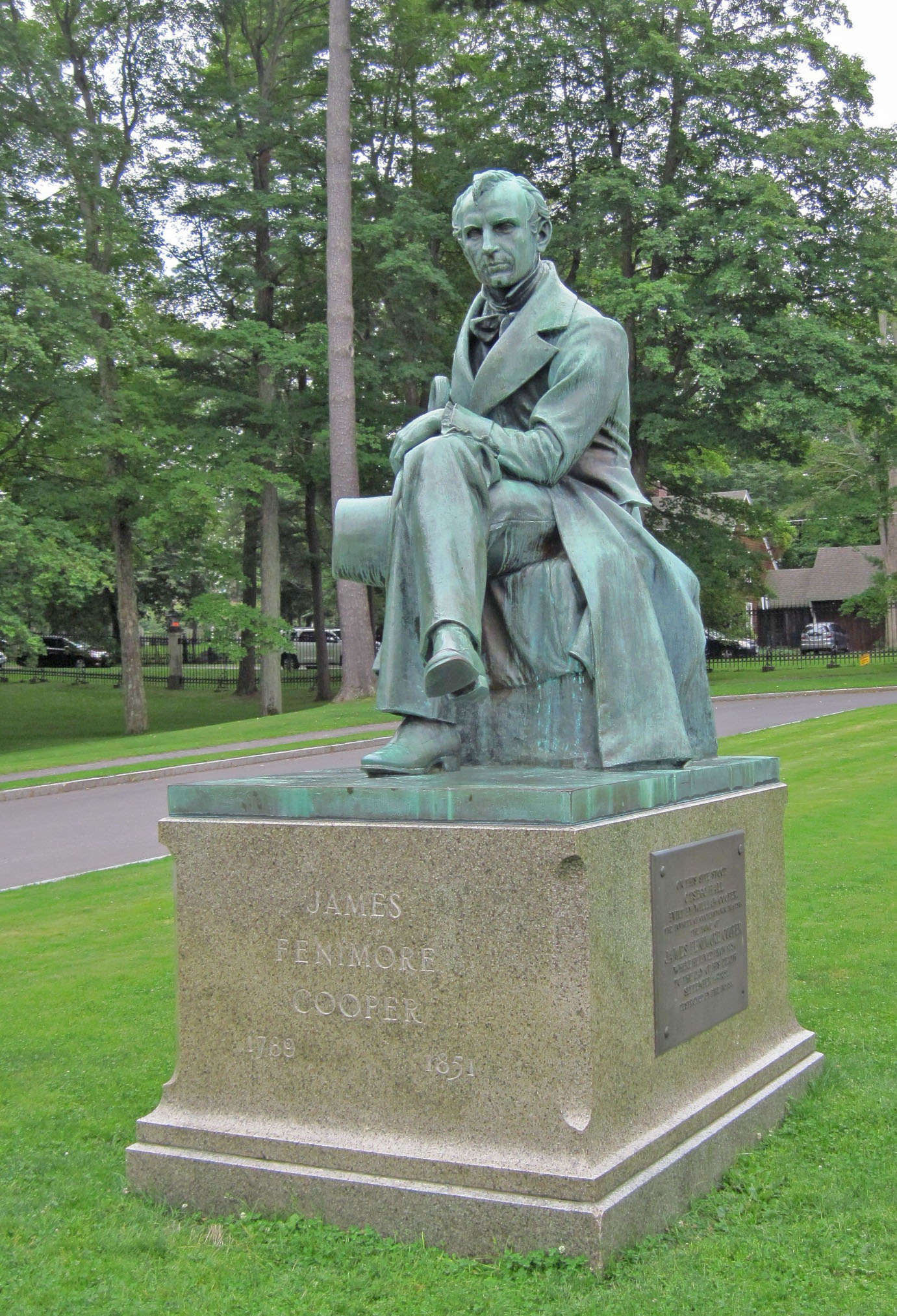 James Fenimore Cooper Cooperstowns Literary Ghost