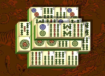Ein Kinderspiel Mahjong