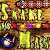 Das Logo von Snake vs Man