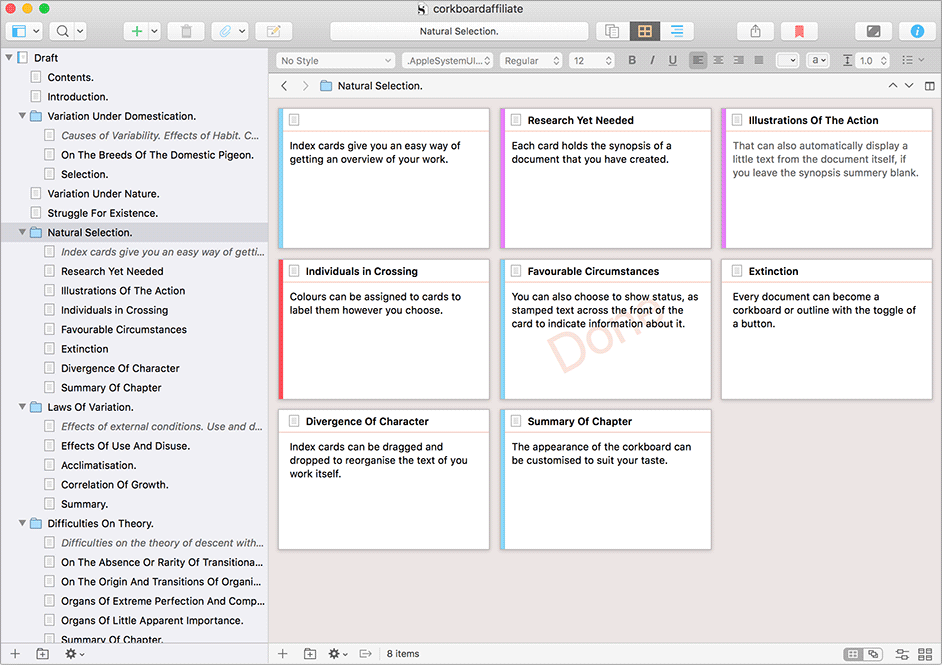 Buy Scrivener 3 for macOS (Regular Licence)