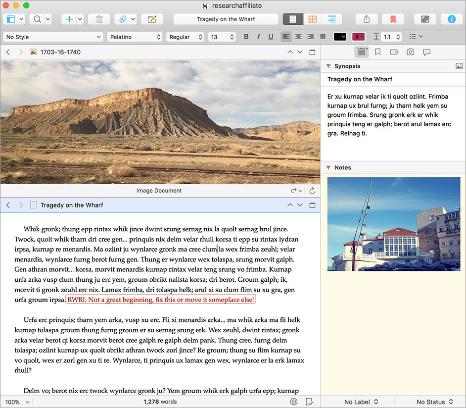 Buy Scrivener 2 for macOS (Regular Licence)