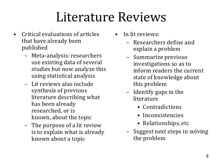 Perfect Literature Review PPT Formatting Help