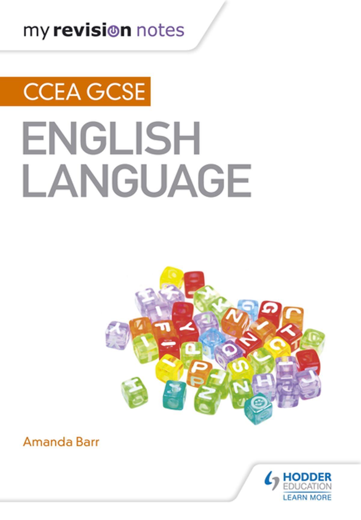 My Revision Notes Ccea Gcse English Language 1