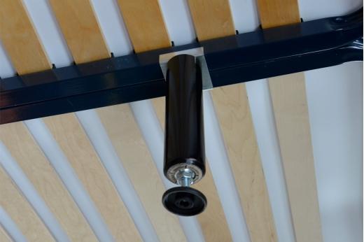 pied de liaison bois pour tube 30x30 lot de 2