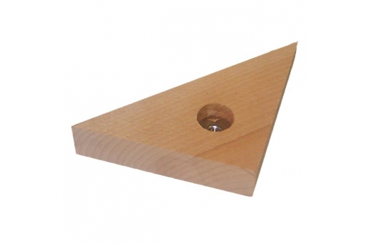 masse d angle bois triangulaire
