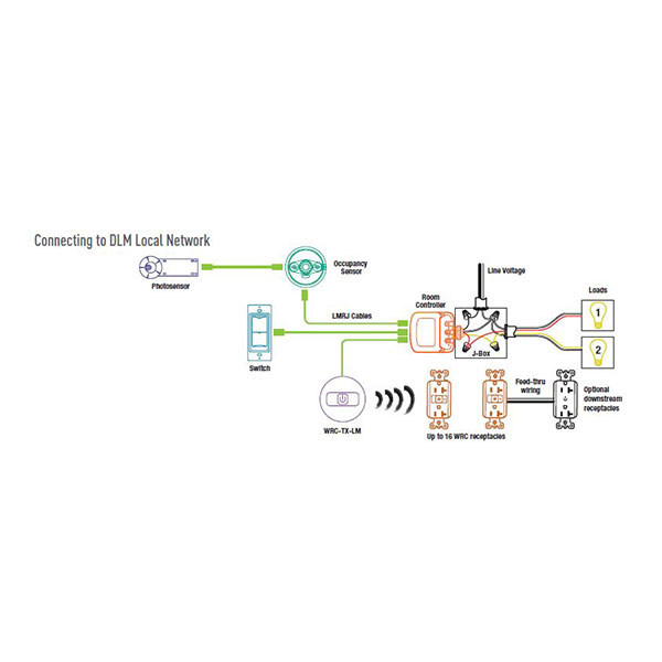 wattstopper vacancy sensor wiring diagram