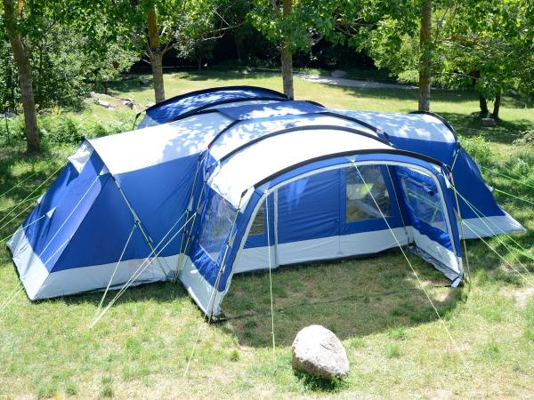Skandika Nimbus 12 Person Man Xl Group Tent 4 Sleeping Cabins 2 Entrances