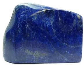 Pierre polie en Lapis Lazuli