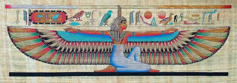 Isis, déesse égyptienne de l'amour, est associée au quartz rose