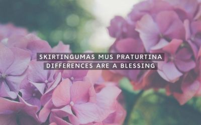 Skirtingumas mus praturtina
