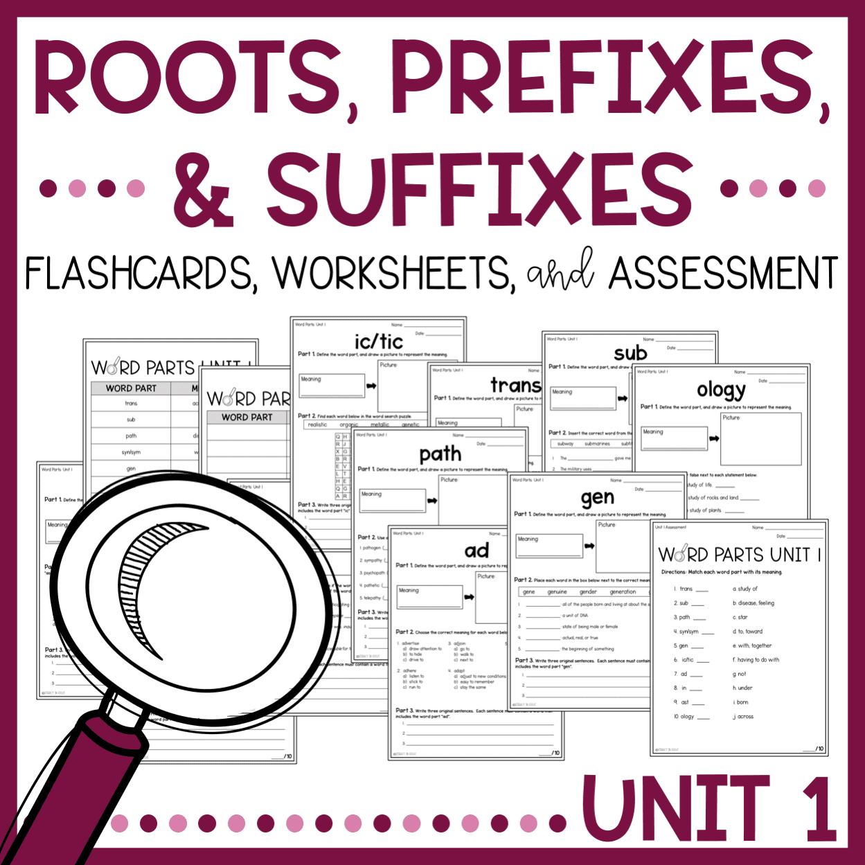 3 Steps For Teaching Root Words Prefixes And Suffixes