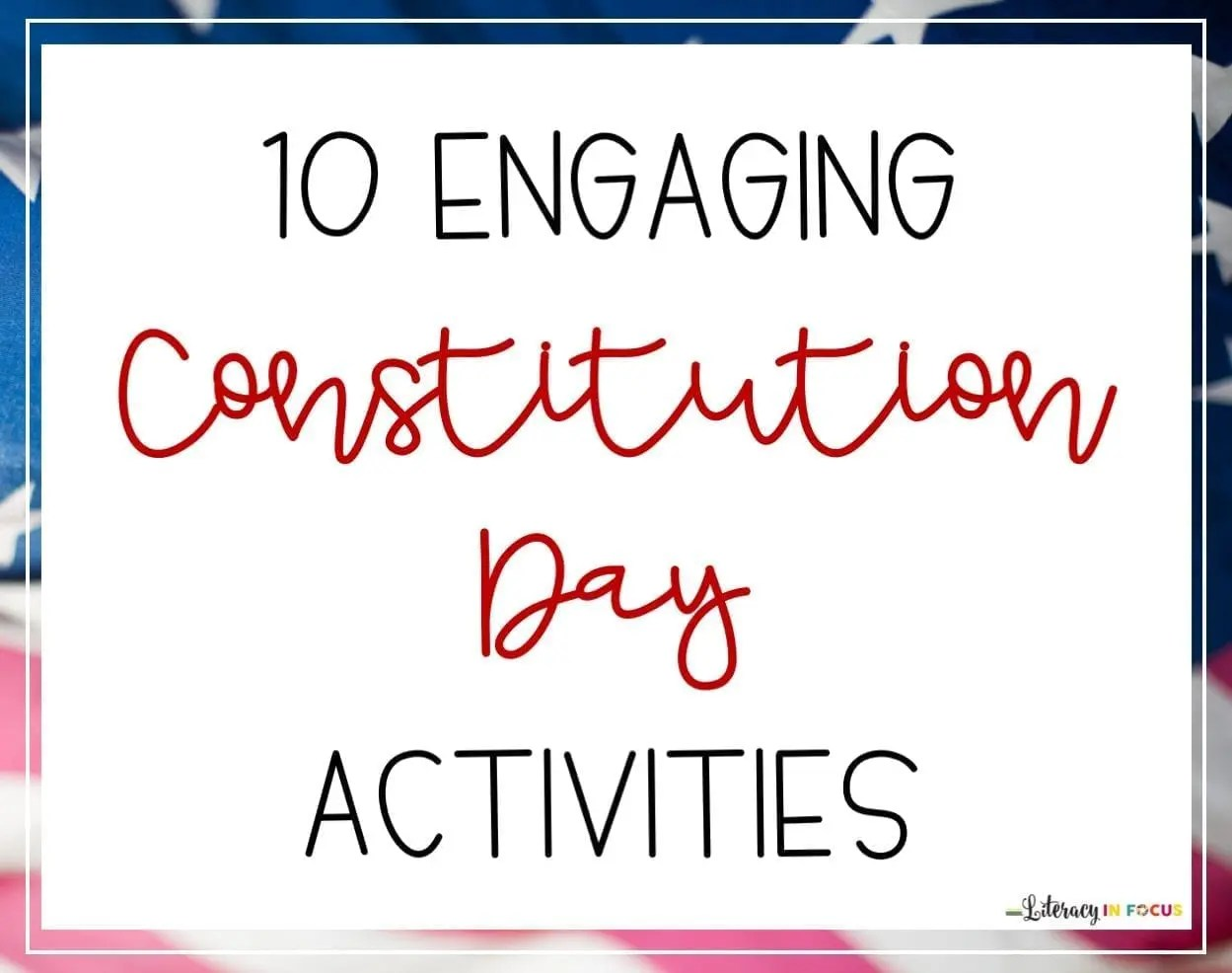 Constitution Day Ideas Title