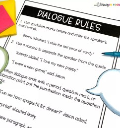 Teaching Students to Write Dialogue: A Cooperative Lesson Plan   Literacy  In Focus [ 1265 x 1265 Pixel ]